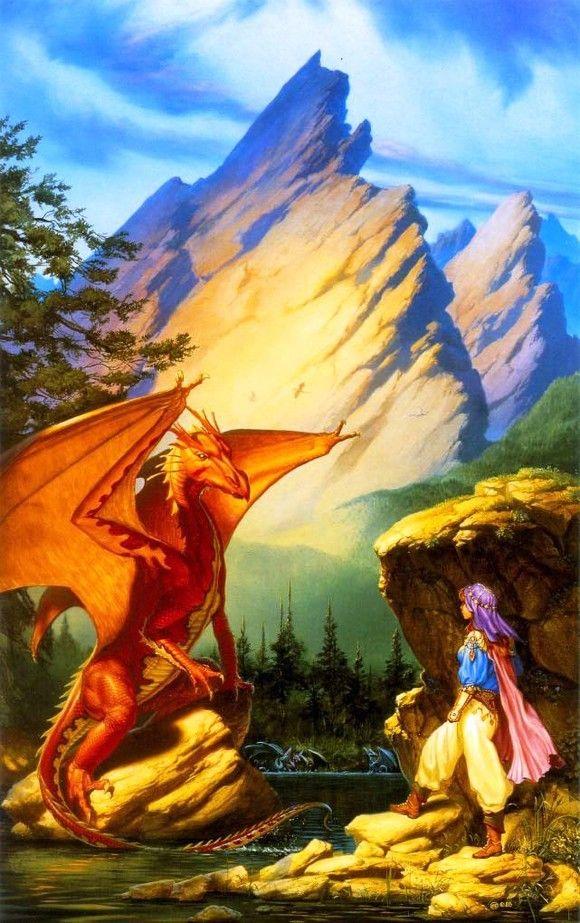 Chevalière-dragon